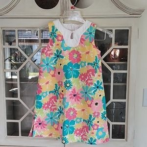 Janie and Jack Girls Floral Dress Size 6